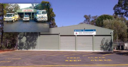 Upgraded Gidgegannup Fire Station